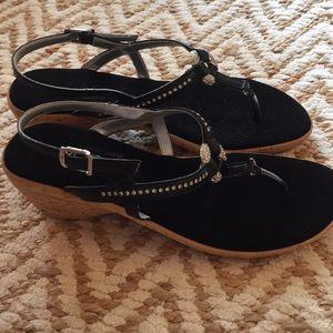 Onex wedge embellished sandal size 6